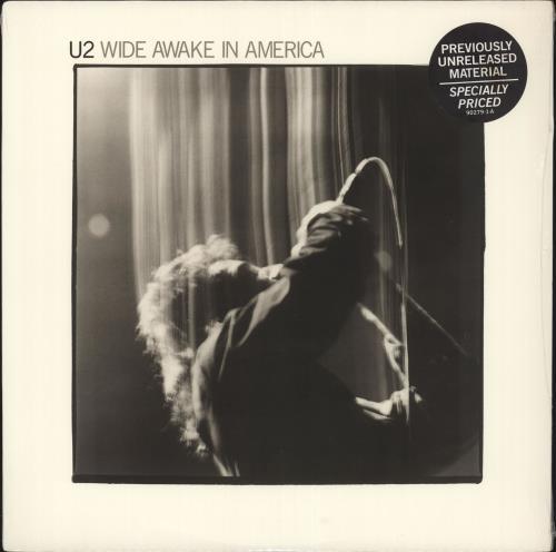 "U2 Wide Awake In America EP - Sealed 12"" vinyl single (12 inch record / Maxi-single) US U-212WI505347"