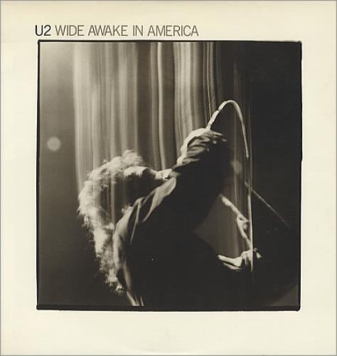 "U2 Wide Awake In America 12"" vinyl single (12 inch record / Maxi-single) US U-212WI194118"