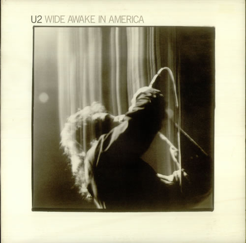 "U2 Wide Awake In America 12"" vinyl single (12 inch record / Maxi-single) US U-212WI24492"