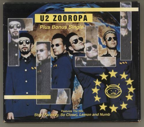 U2 Zooropa & Stay - Double CD Pack 2 CD album set (Double CD) Australian U-22CZO27146
