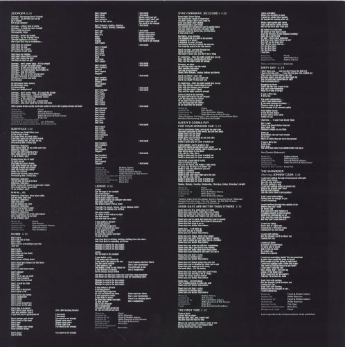 U2 Zooropa - EX vinyl LP album (LP record) UK U-2LPZO619315
