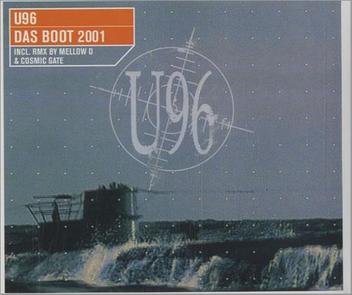 U96 Das Boot 2001 German Cd Single Cd5 5 Quot 151738