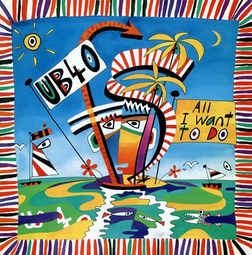 """UB40 All I Want To Do 12"""" vinyl single (12 inch record / Maxi-single) UK UB412AL465707"""
