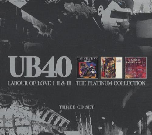 Ub40 Labour Of Love I Ii Amp Iii The Platinum Collection Us