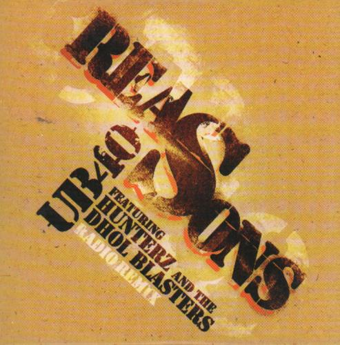 "UB40 Reasons CD single (CD5 / 5"") UK UB4C5RE649181"