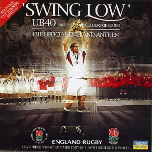 "UB40 Swing Low CD single (CD5 / 5"") UK UB4C5SW267822"