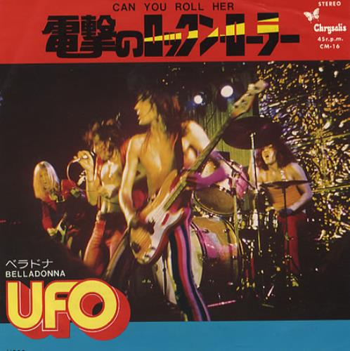 """UFO Can You Roll Her 7"""" vinyl single (7 inch record) Japanese UFO07CA353706"""