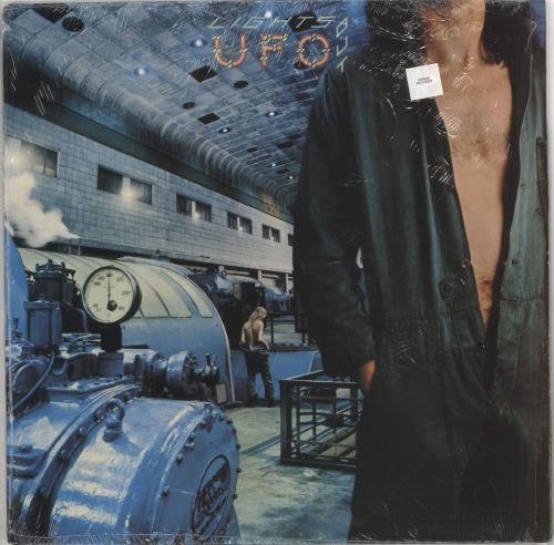 UFO Lights Out - 1st - shrink vinyl LP album (LP record) UK UFOLPLI725459