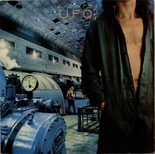 Ufo Lights Out 1st Green Label Uk Vinyl Lp Album Lp