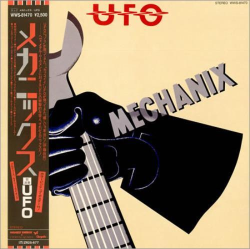 Ufo Mechanix Japanese Vinyl Lp Album Lp Record 325400