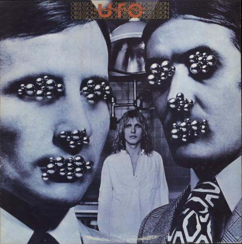 UFO Obsession vinyl LP album (LP record) UK UFOLPOB505238