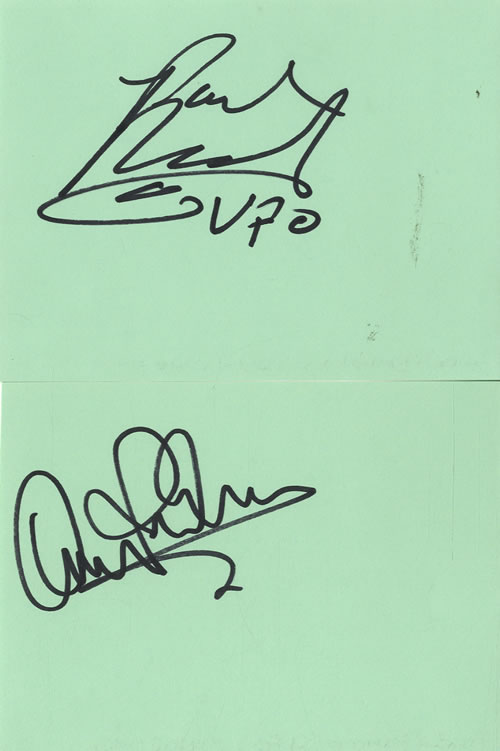 UFO Pages From An Autograph Book memorabilia UK UFOMMPA602194