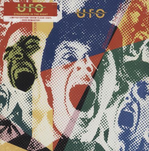 UFO Strangers In The Night - Clear Vinyl - Sealed 2-LP vinyl record set (Double Album) UK UFO2LST756964