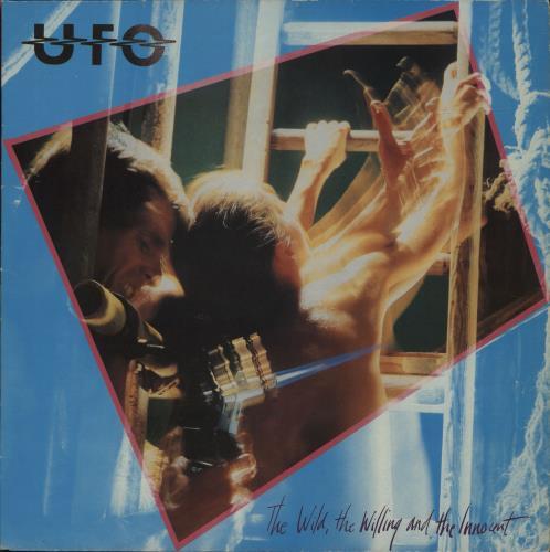 UFO The Wild, The Willing And The Innocent vinyl LP album (LP record) UK UFOLPTH264283