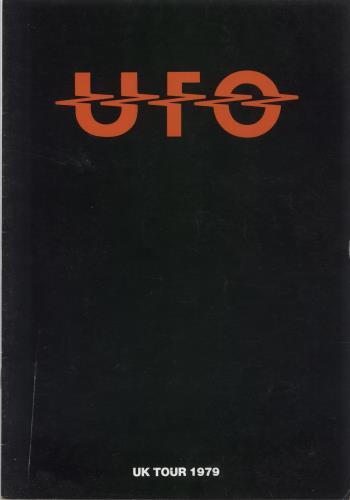 UFO UK Tour 1979 - VG tour programme UK UFOTRUK583924