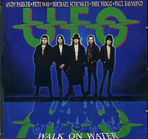 Ufo Walk On Water Sticker Japanese Cd Album Cdlp 282642