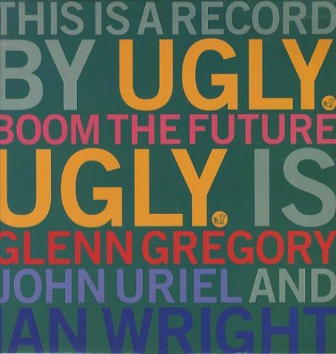 """Ugly Boom The Future 12"""" vinyl single (12 inch record / Maxi-single) UK UGY12BO196294"""