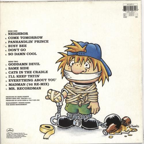 Ugly Kid Joe America's Least Wanted - Ex vinyl LP album (LP record) UK UKJLPAM719722