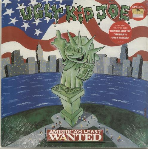 Ugly Kid Joe America's Least Wanted - Sealed vinyl LP album (LP record) UK UKJLPAM695959