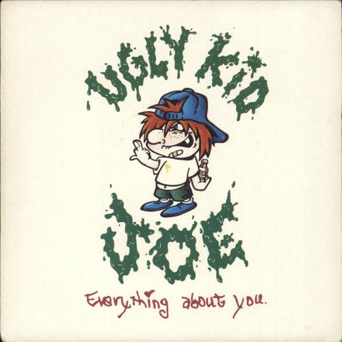 "Ugly Kid Joe Everything About You - Solid 7"" vinyl single (7 inch record) UK UKJ07EV715705"