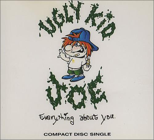 "Ugly Kid Joe Everything About You CD single (CD5 / 5"") UK UKJC5EV118350"