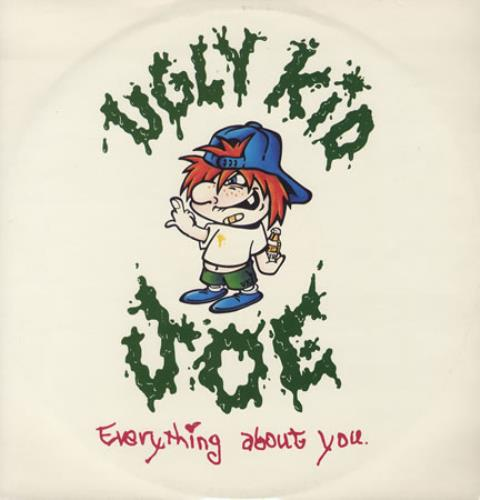 "Ugly Kid Joe Everything About You 12"" vinyl single (12 inch record / Maxi-single) UK UKJ12EV405734"