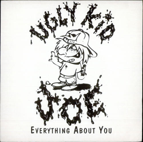 "Ugly Kid Joe Everything About You 7"" vinyl single (7 inch record) UK UKJ07EV508311"