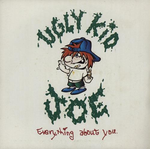"Ugly Kid Joe Everything About You 7"" vinyl single (7 inch record) UK UKJ07EV569994"