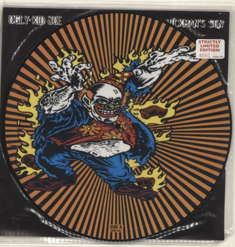 "Ugly Kid Joe Milkman's Son - Numbered Sleeve 12"" vinyl picture disc 12inch picture disc record UK UKJ2PMI241314"
