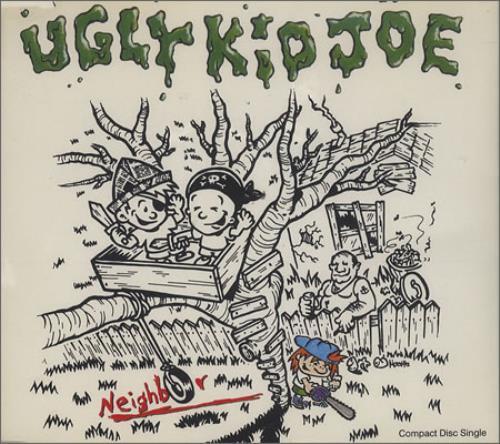 "Ugly Kid Joe Neighbor + Live at the Basement CD single (CD5 / 5"") UK UKJC5NE367544"
