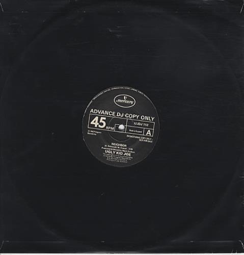 "Ugly Kid Joe Neighbor 12"" vinyl single (12 inch record / Maxi-single) UK UKJ12NE329008"