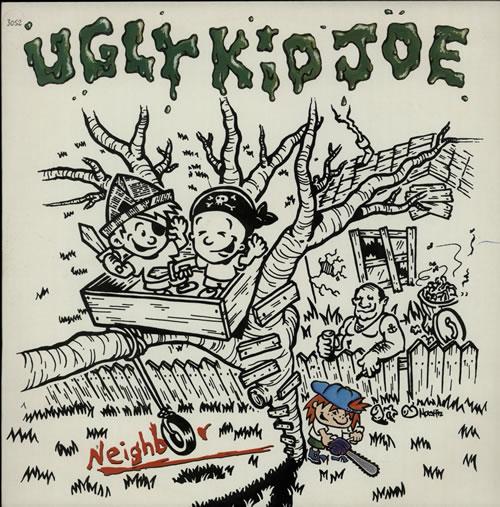 "Ugly Kid Joe Neighbor 12"" vinyl single (12 inch record / Maxi-single) UK UKJ12NE625925"