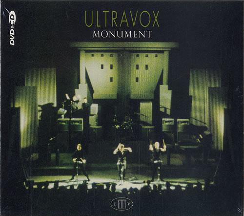 Ultravox Monument The Soundtrack Uk 2 Disc Cd Dvd Set