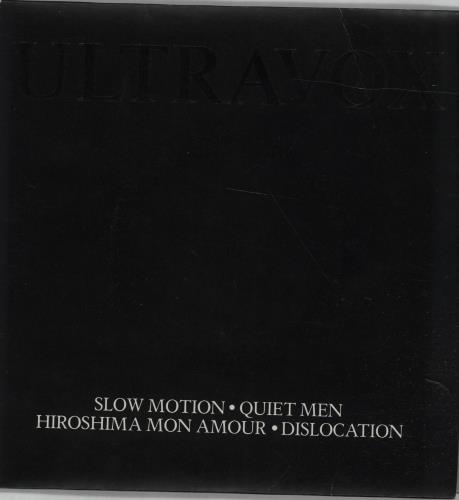 "Ultravox Slow Motion / Quiet Men - Double Pack 7"" vinyl single (7 inch record) UK VOX07SL42583"