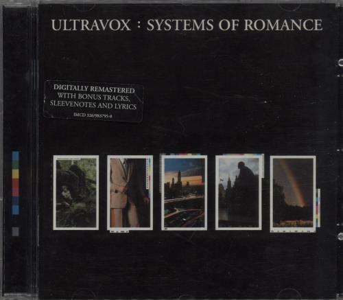 Ultravox Systems Of Romance CD album (CDLP) UK VOXCDSY365566