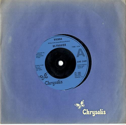 "Ultravox Vienna - Injection 7"" vinyl single (7 inch record) UK VOX07VI591923"