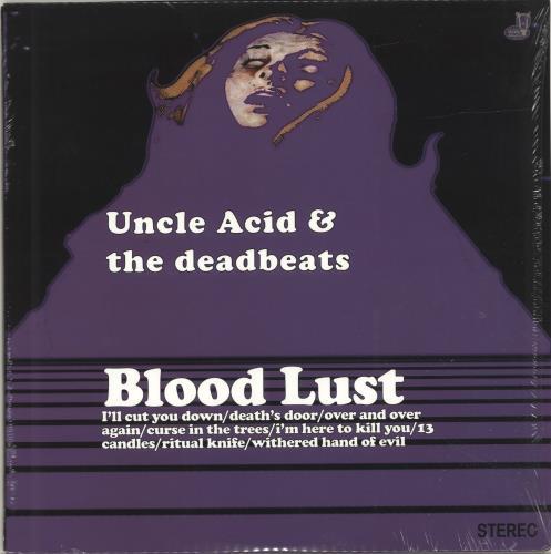 Uncle Acid & The Deadbeats Blood Lust vinyl LP album (LP record) UK YNCLPBL696515