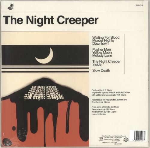Uncle Acid & The Deadbeats The Night Creeper - Red Inside Clear Vinyl 2-LP vinyl record set (Double Album) US YNC2LTH696509