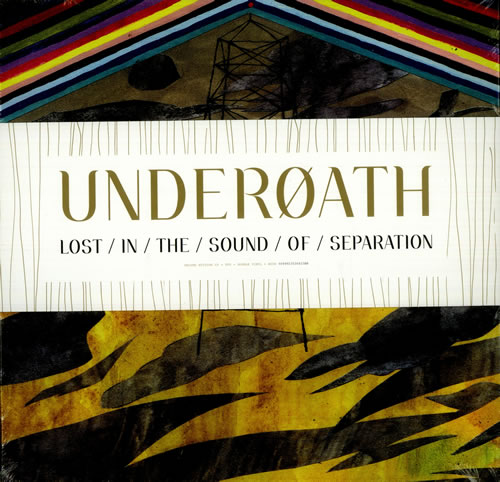 Underoath Lost In The Sound Of Separation Autographed Us
