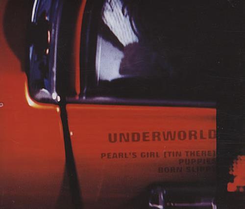 """Underworld Pearl's Girl (Tin There) CD single (CD5 / 5"""") UK UDWC5PE386618"""