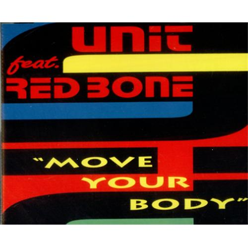 Unit Feat Red Bone Move Your Body German CD single (CD5 / 5