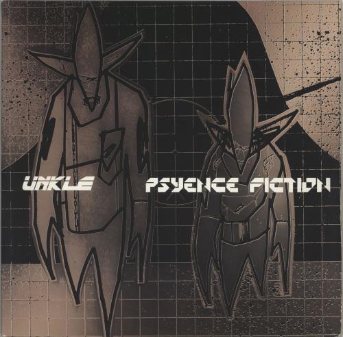 Unkle Psyence Fiction 2-LP vinyl record set (Double Album) US UNK2LPS765440