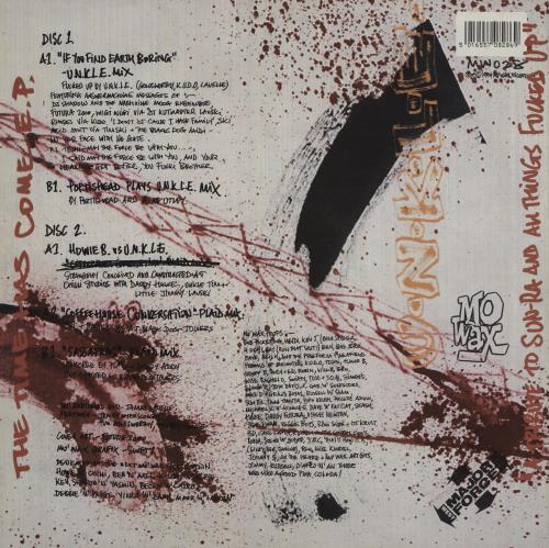 Unkle The Time Has Come E.P. picture disc LP (vinyl picture disc album) UK UNKPDTH755054