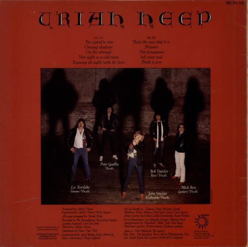Uriah Heep Abominog - EX vinyl LP album (LP record) UK URILPAB693834