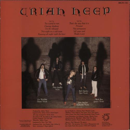 Uriah Heep Abominog Uk Vinyl Lp Album Lp Record 391365
