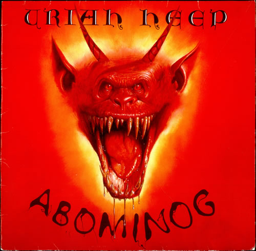 Uriah Heep Abominog vinyl LP album (LP record) German URILPAB512181