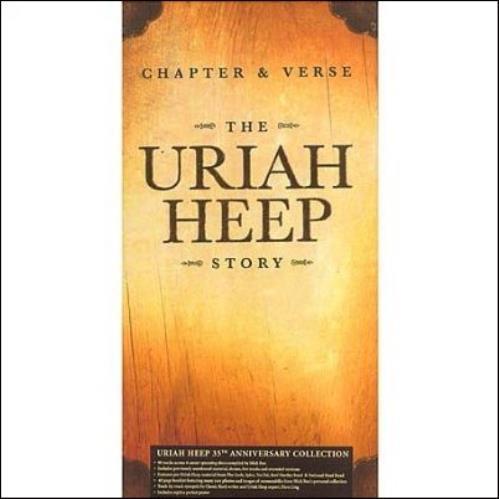 Uriah Heep Chapter & Verse 6-CD album set UK URI6CCH337493