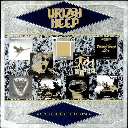Uriah Heep Collection vinyl LP album (LP record) UK URILPCO499456