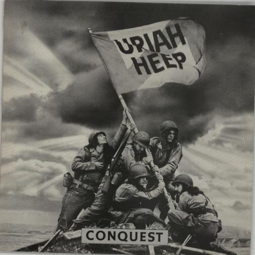 Uriah Heep Conquest vinyl LP album (LP record) UK URILPCO564042