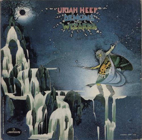 Uriah Heep Demons And Wizards - EX vinyl LP album (LP record) US URILPDE764434